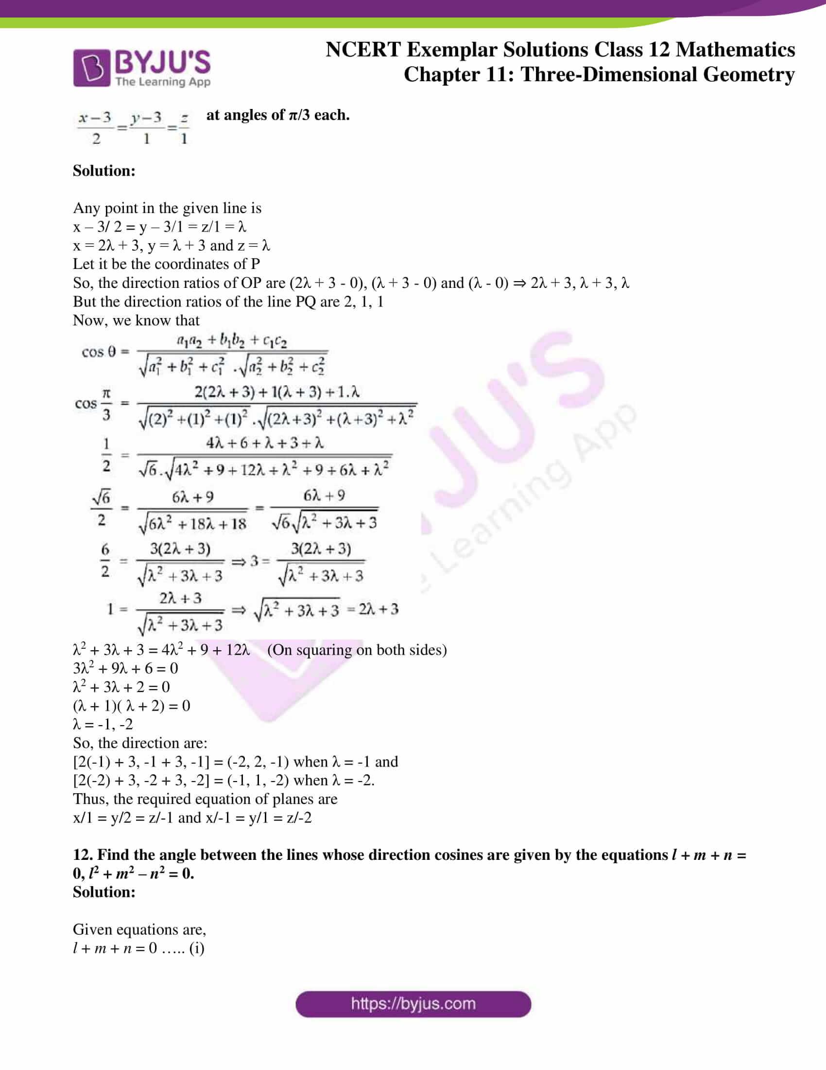 ncert exemplar sol class 12 mathematics ch 11 06