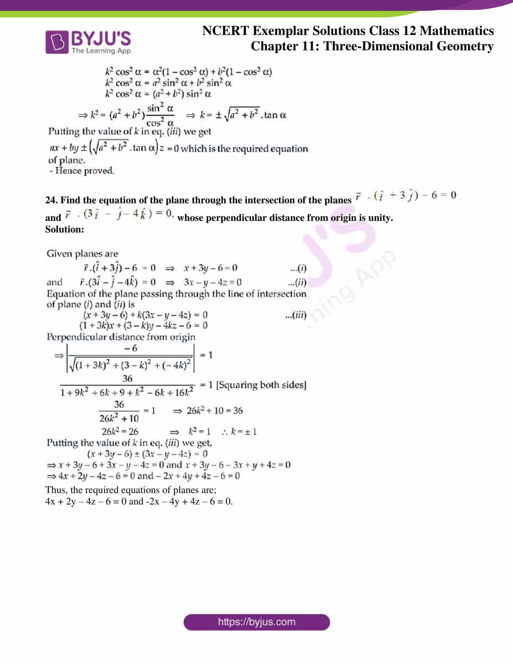 ncert exemplar sol class 12 mathematics ch 11 14
