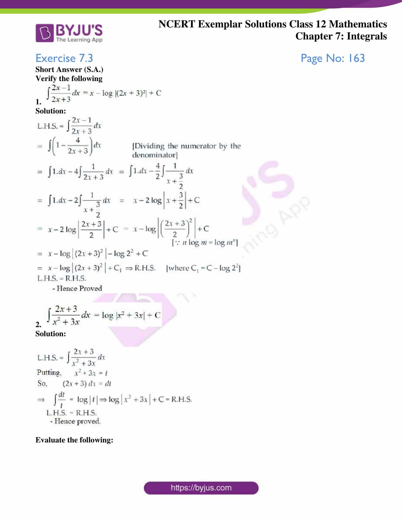 ncert exemplar sol class 12 mathematics ch 7 01