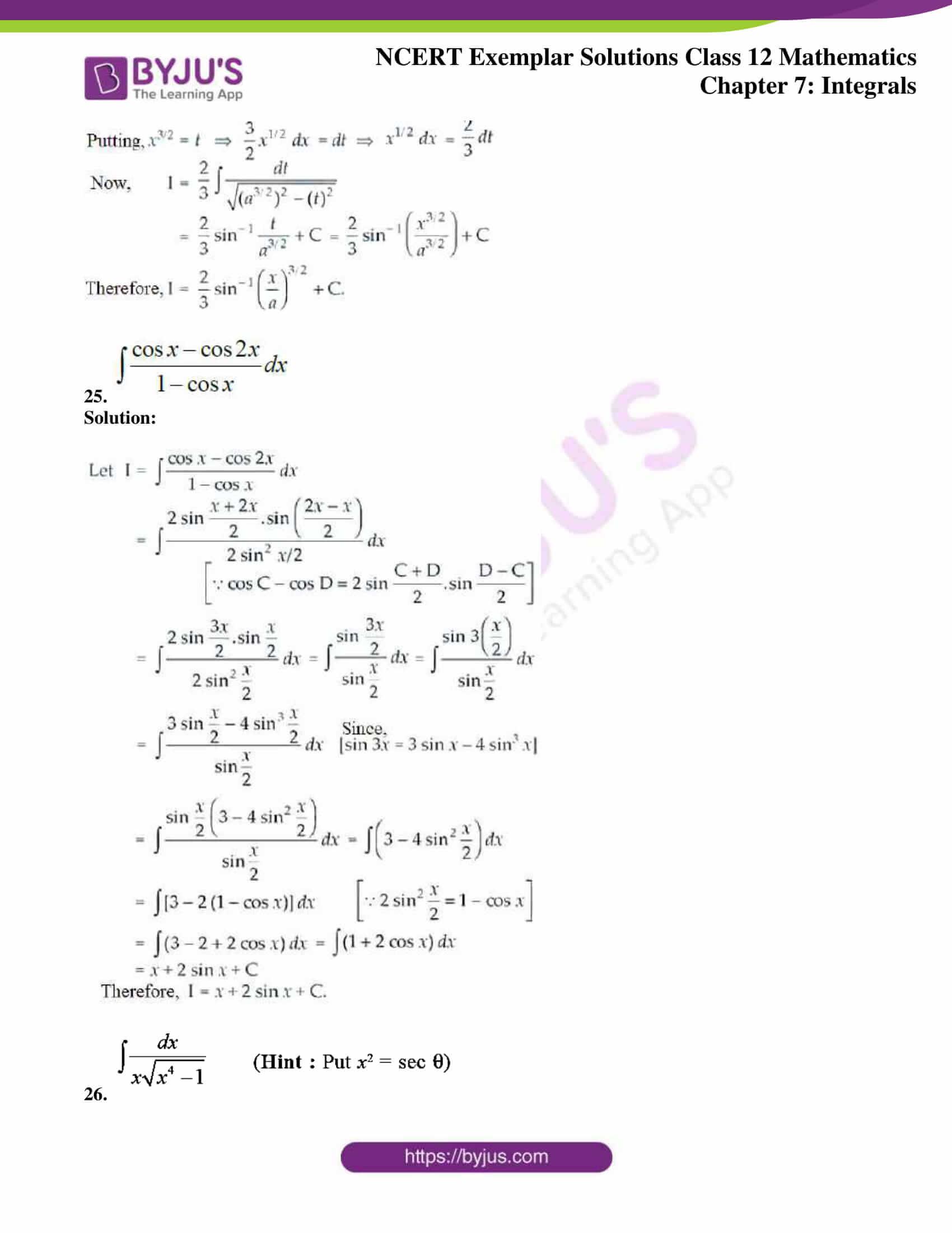 ncert exemplar sol class 12 mathematics ch 7 14
