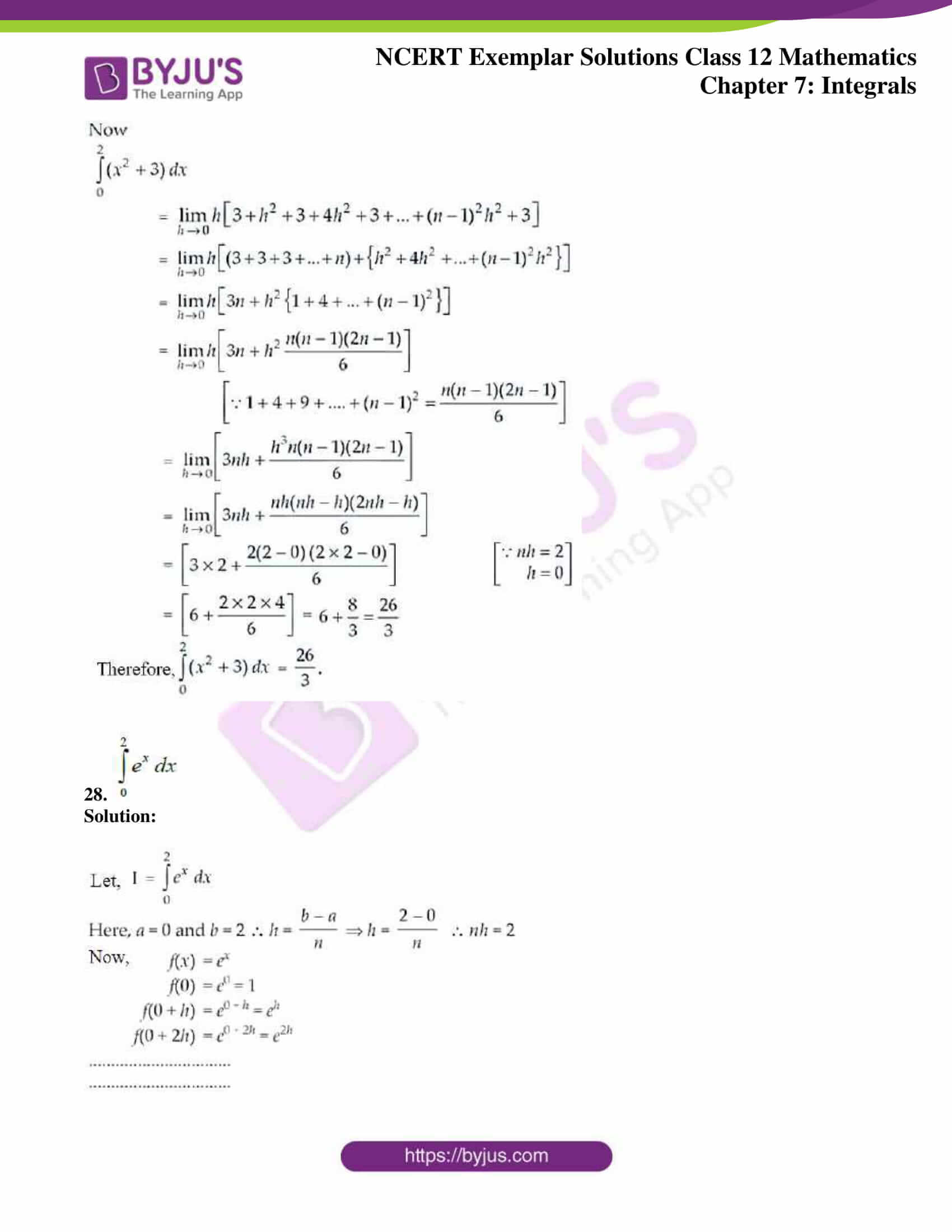 ncert exemplar sol class 12 mathematics ch 7 16