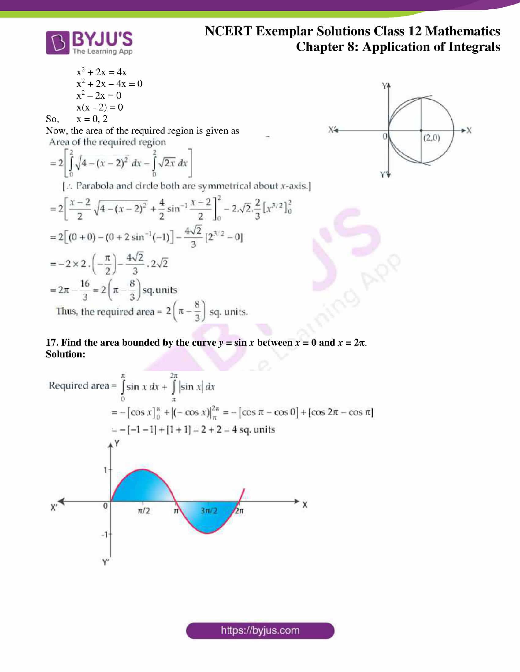 ncert exemplar sol class 12 mathematics ch 8 9