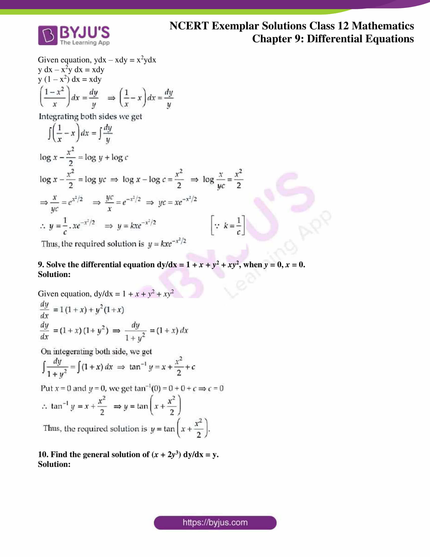 ncert exemplar sol class 12 mathematics ch 9 04