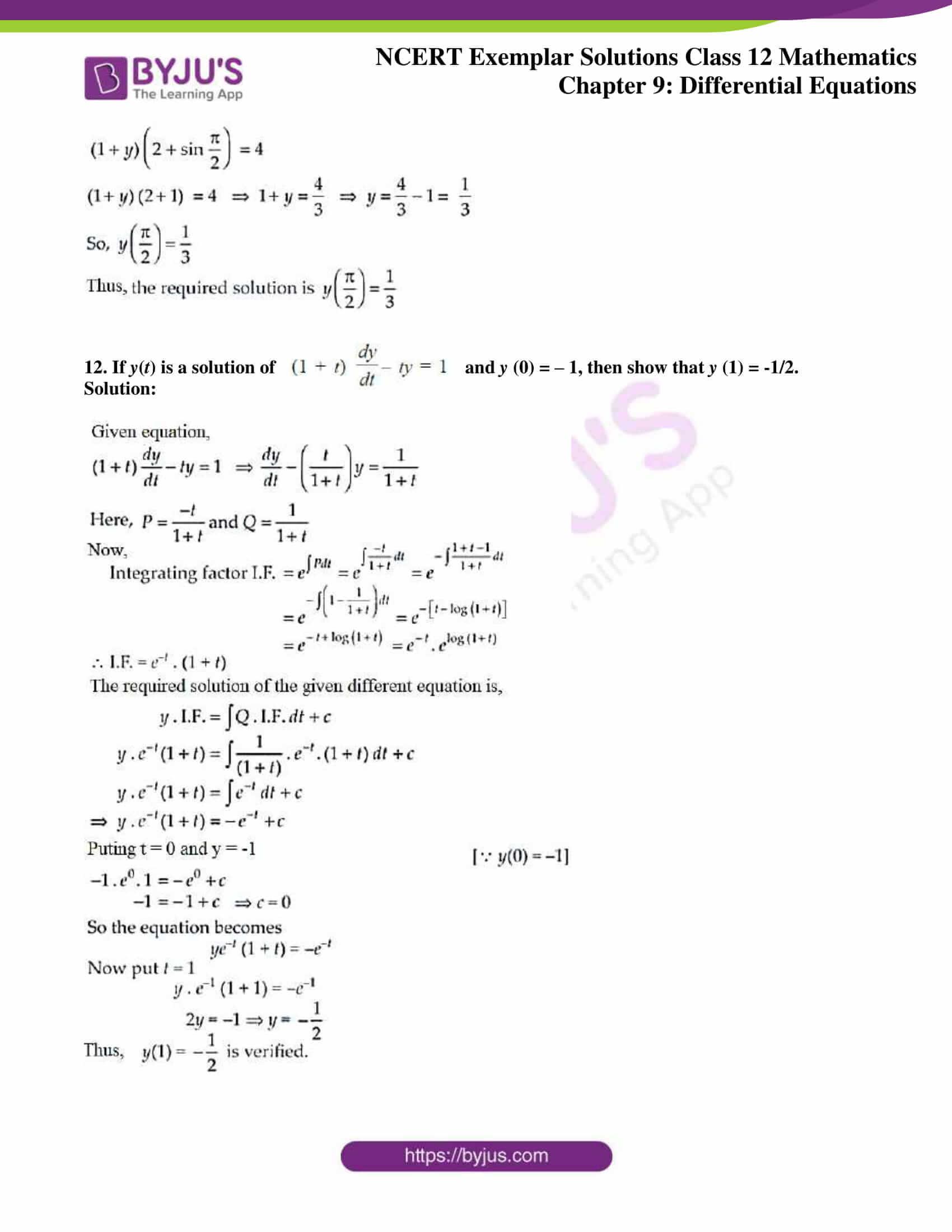 ncert exemplar sol class 12 mathematics ch 9 06