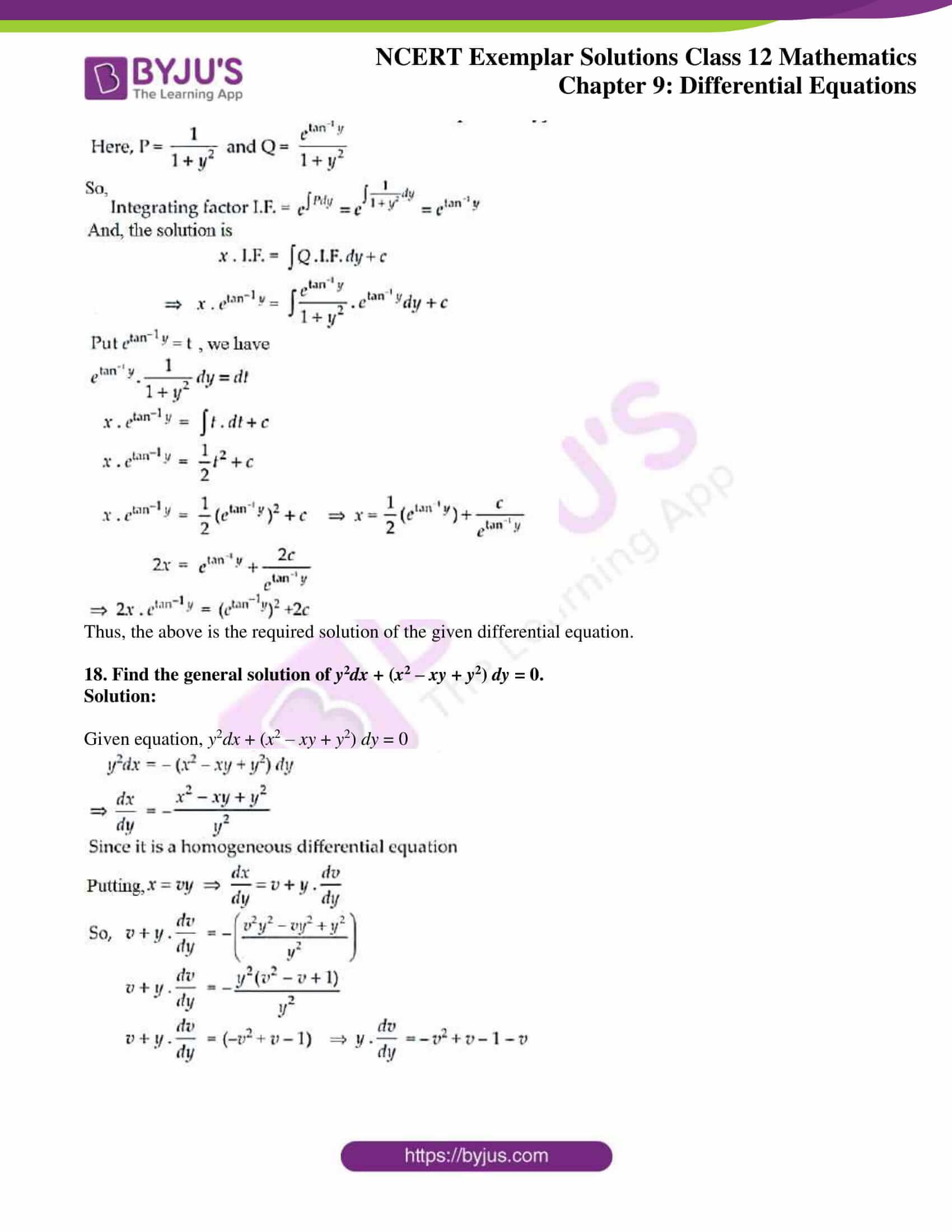 ncert exemplar sol class 12 mathematics ch 9 10