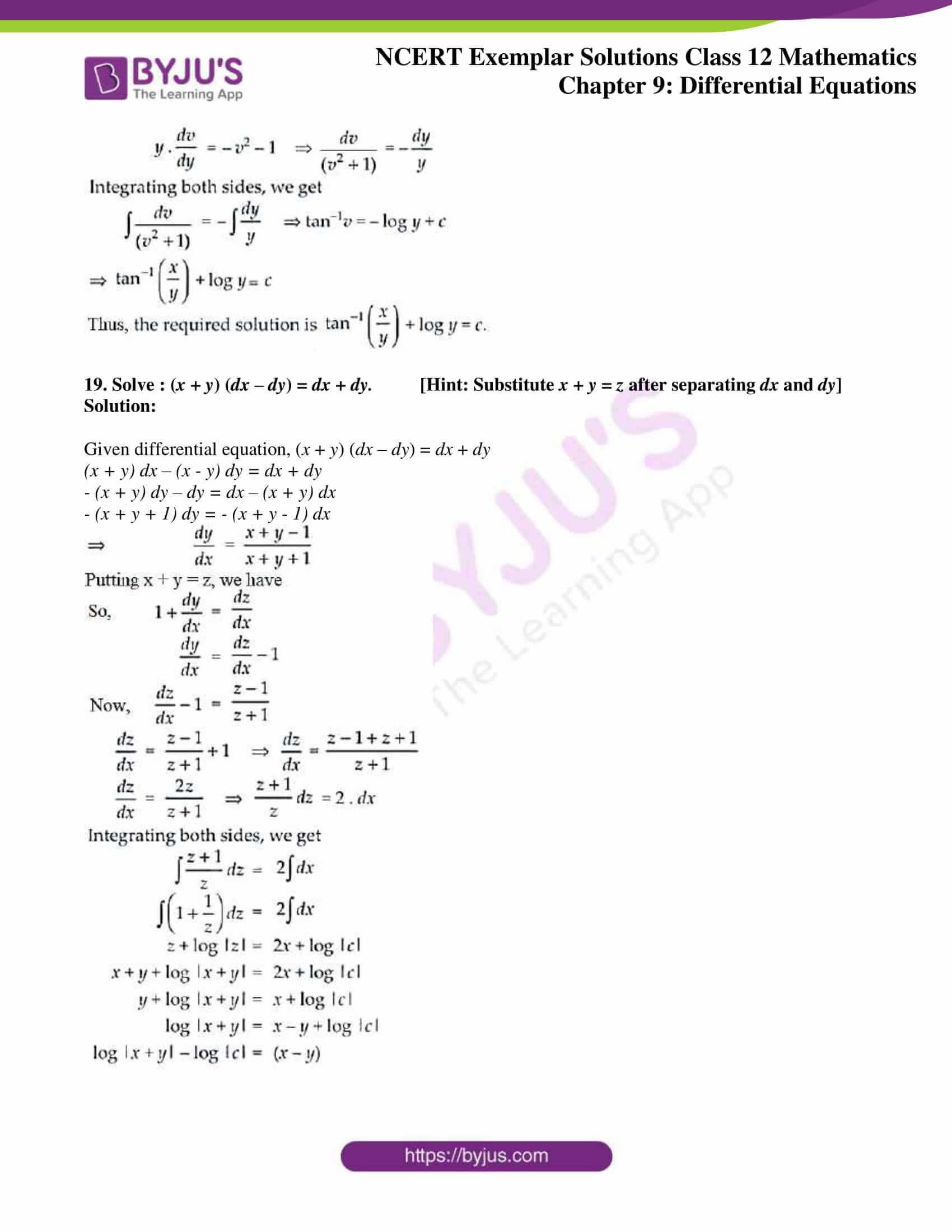ncert exemplar sol class 12 mathematics ch 9 11