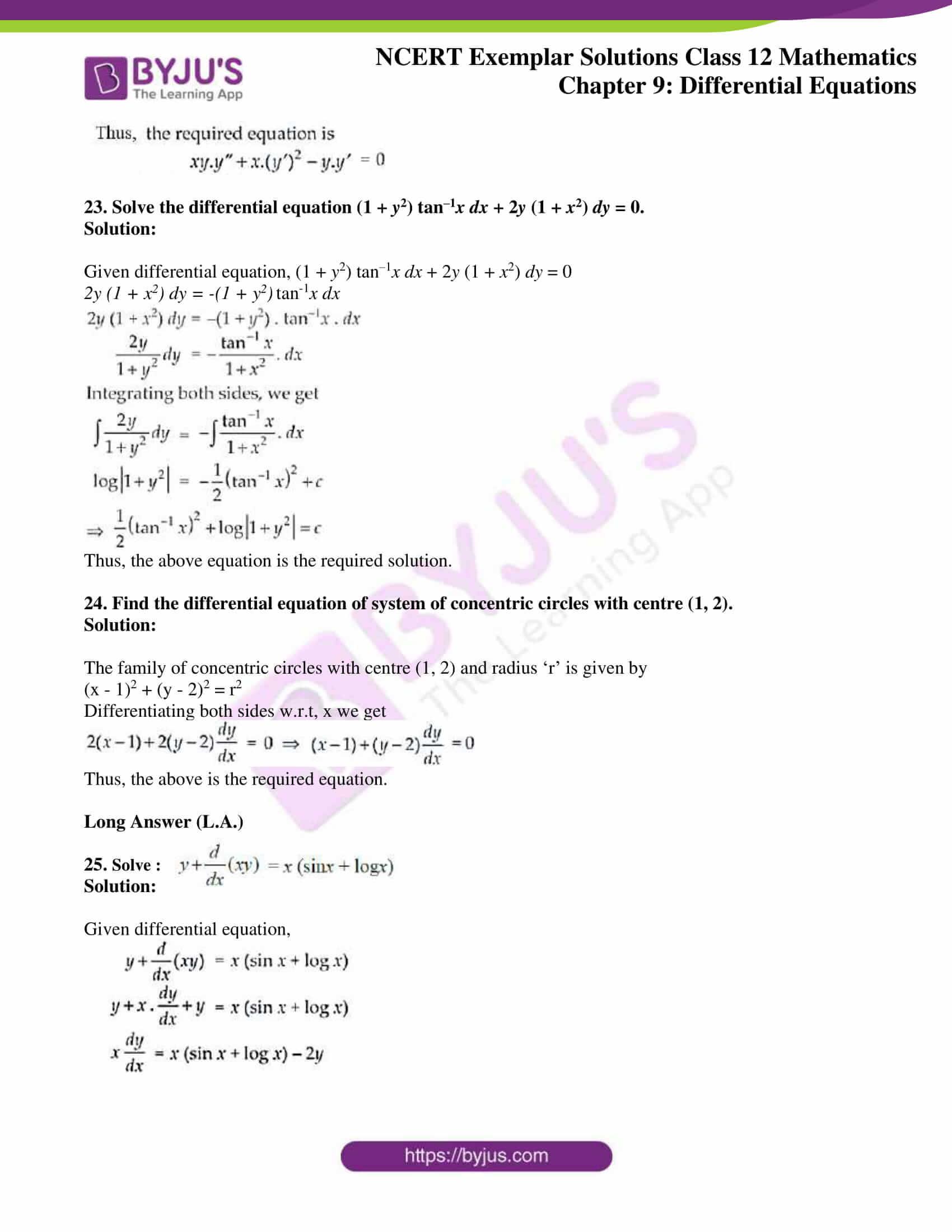 ncert exemplar sol class 12 mathematics ch 9 14
