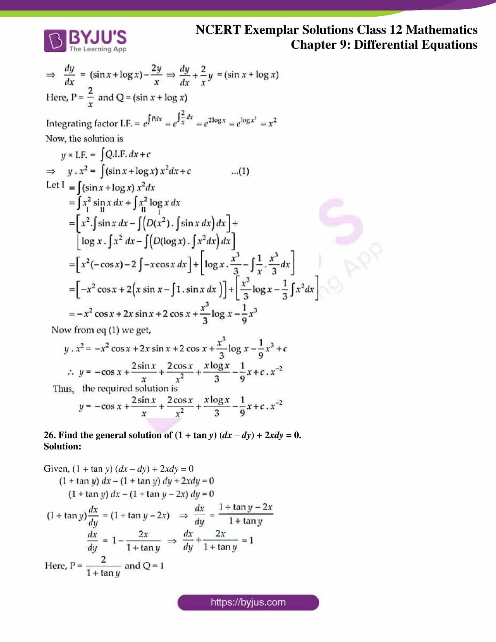 ncert exemplar sol class 12 mathematics ch 9 15