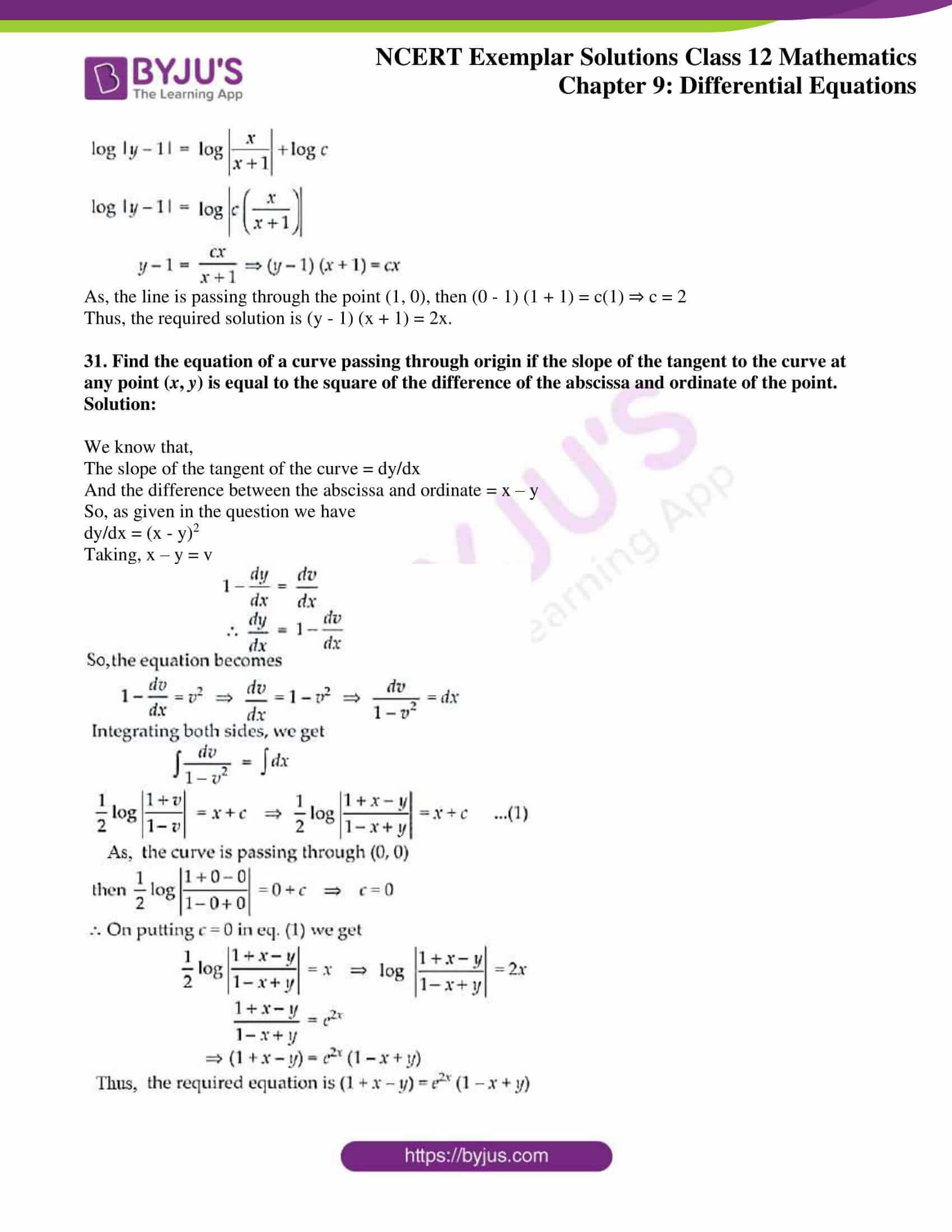 ncert exemplar sol class 12 mathematics ch 9 20