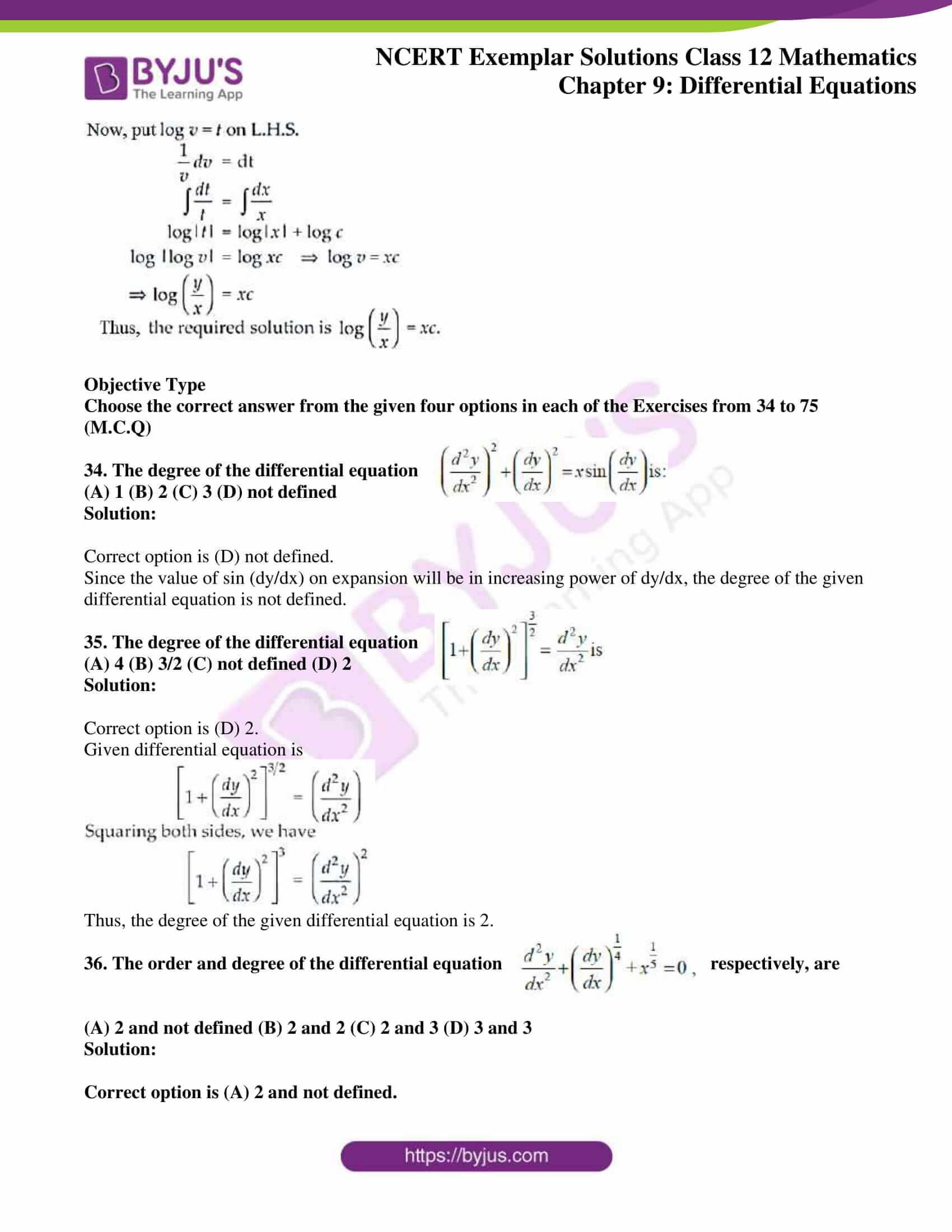 ncert exemplar sol class 12 mathematics ch 9 22
