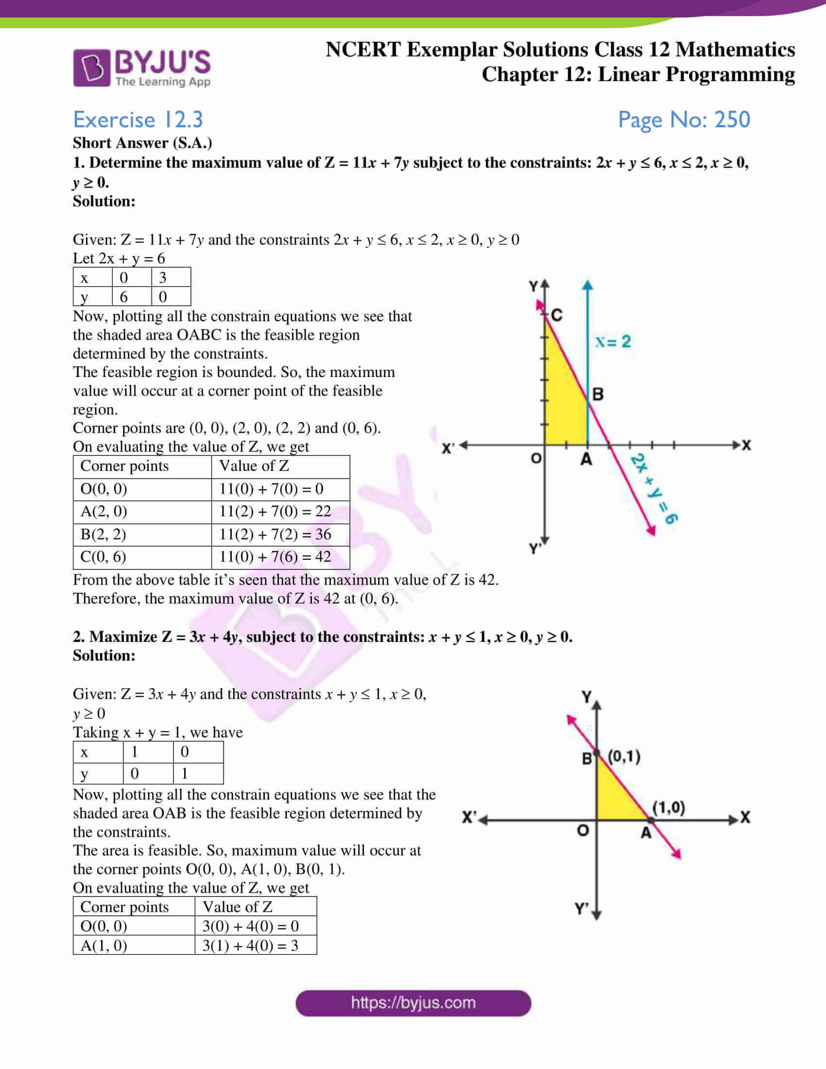 ncert exemplar sol class 12 mathematics chapter 12 01