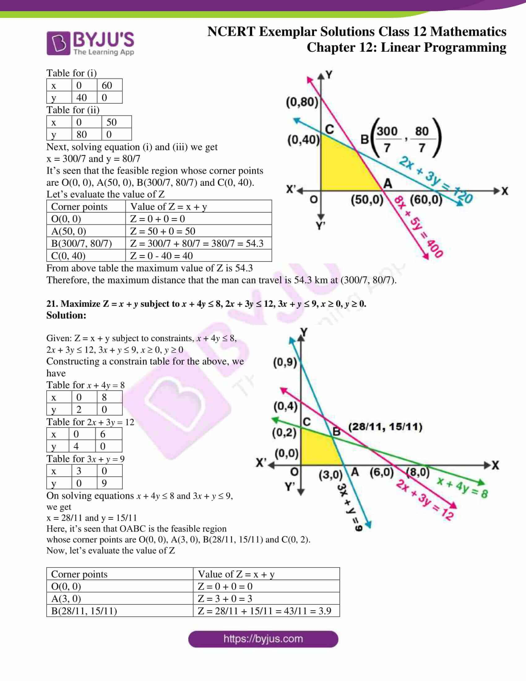 ncert exemplar sol class 12 mathematics chapter 12 13