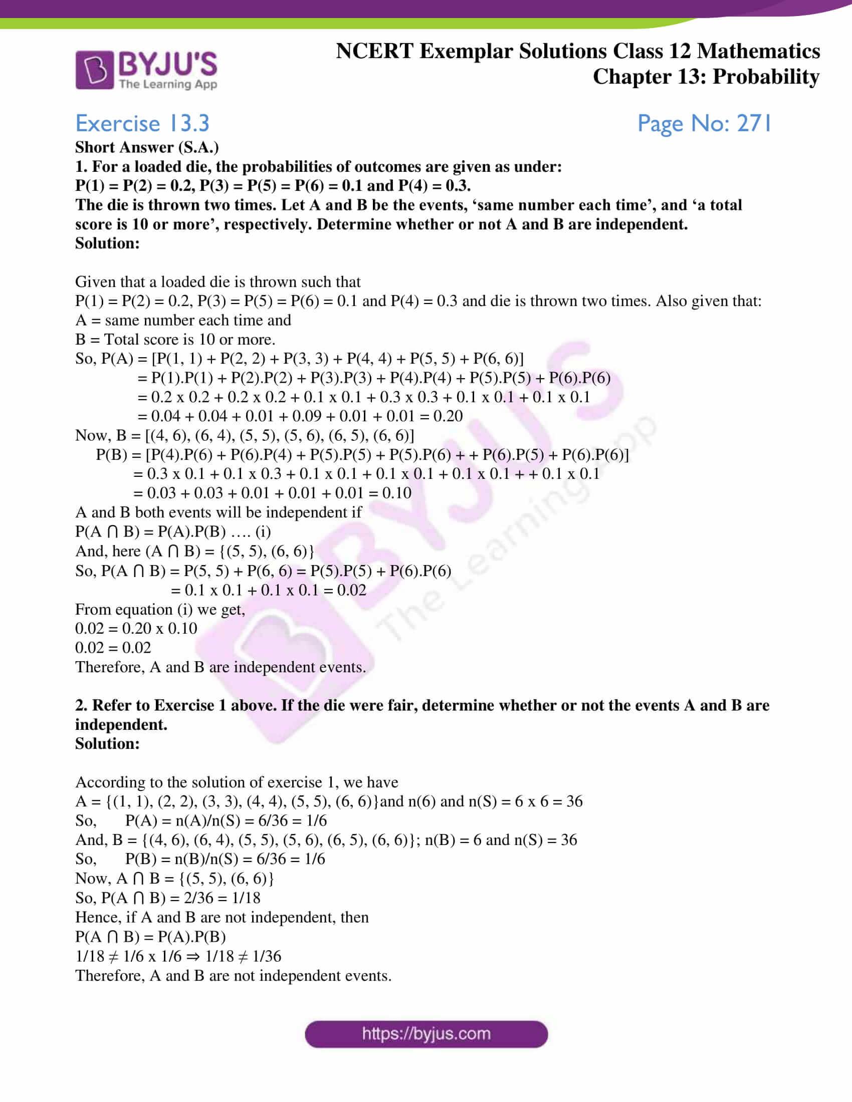 ncert exemplar sol class 12 mathematics chapter 13 01