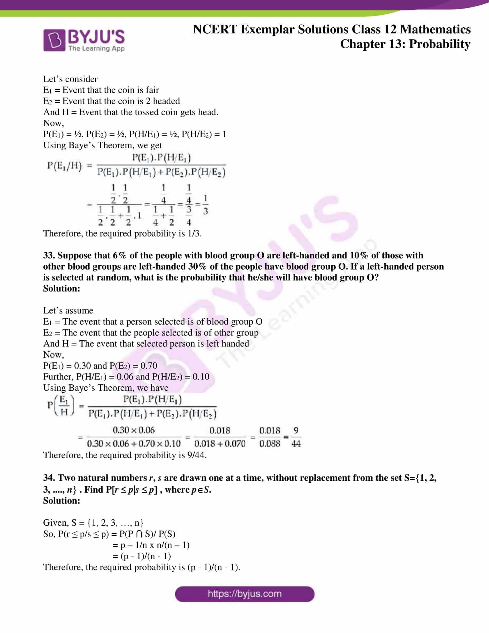 ncert exemplar sol class 12 mathematics chapter 13 14