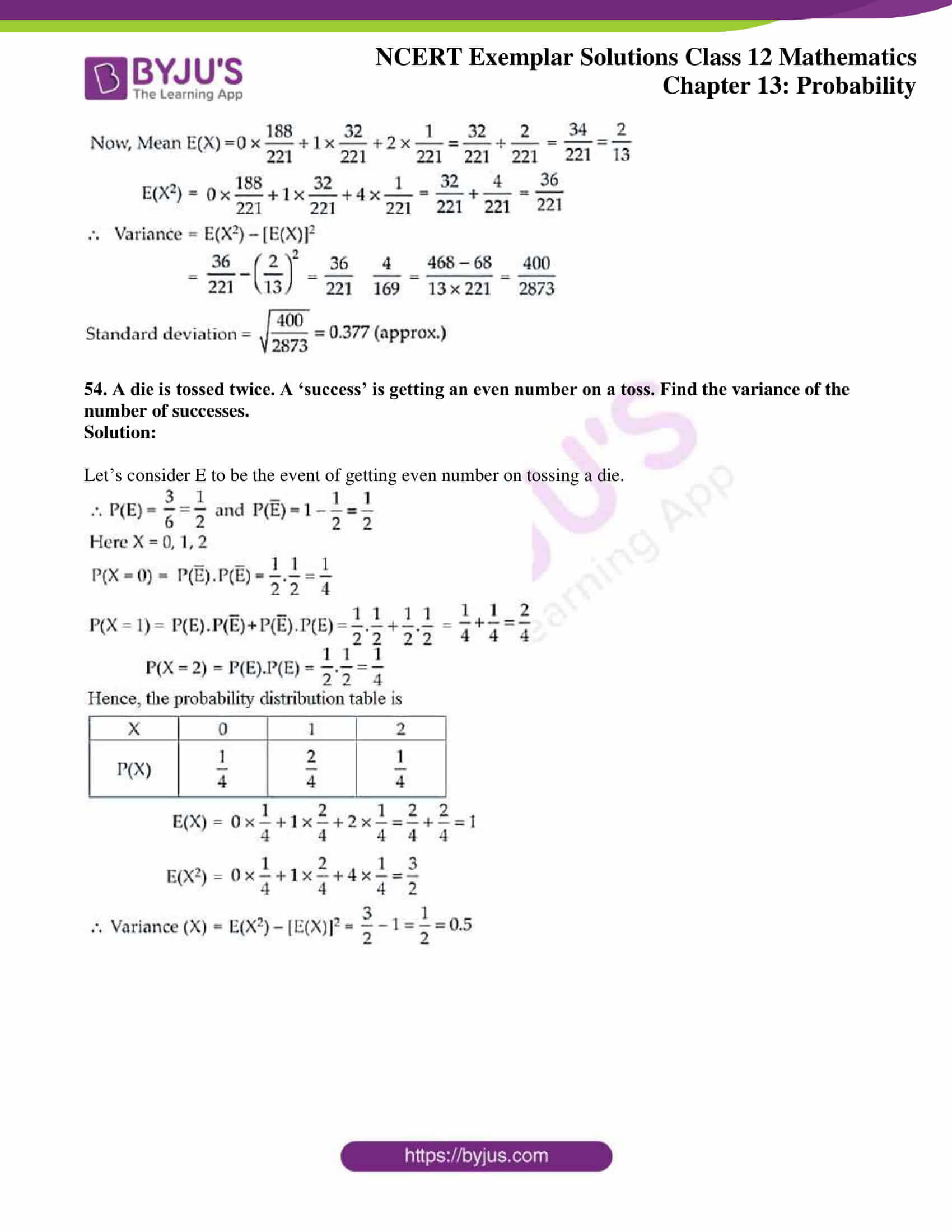 ncert exemplar sol class 12 mathematics chapter 13 26