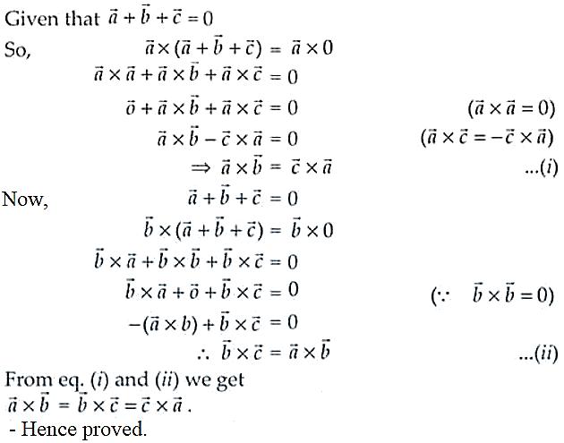 NCERT Exemplar Solutions Class 12 Mathematics Chapter 10 - 29