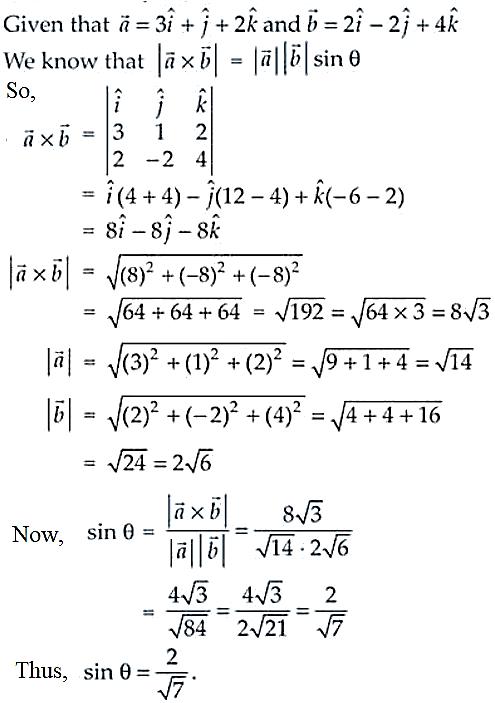 NCERT Exemplar Solutions Class 12 Mathematics Chapter 10 - 32