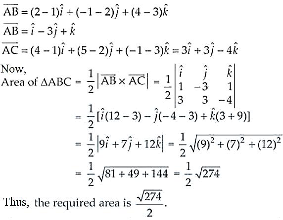 NCERT Exemplar Solutions Class 12 Mathematics Chapter 10 - 38