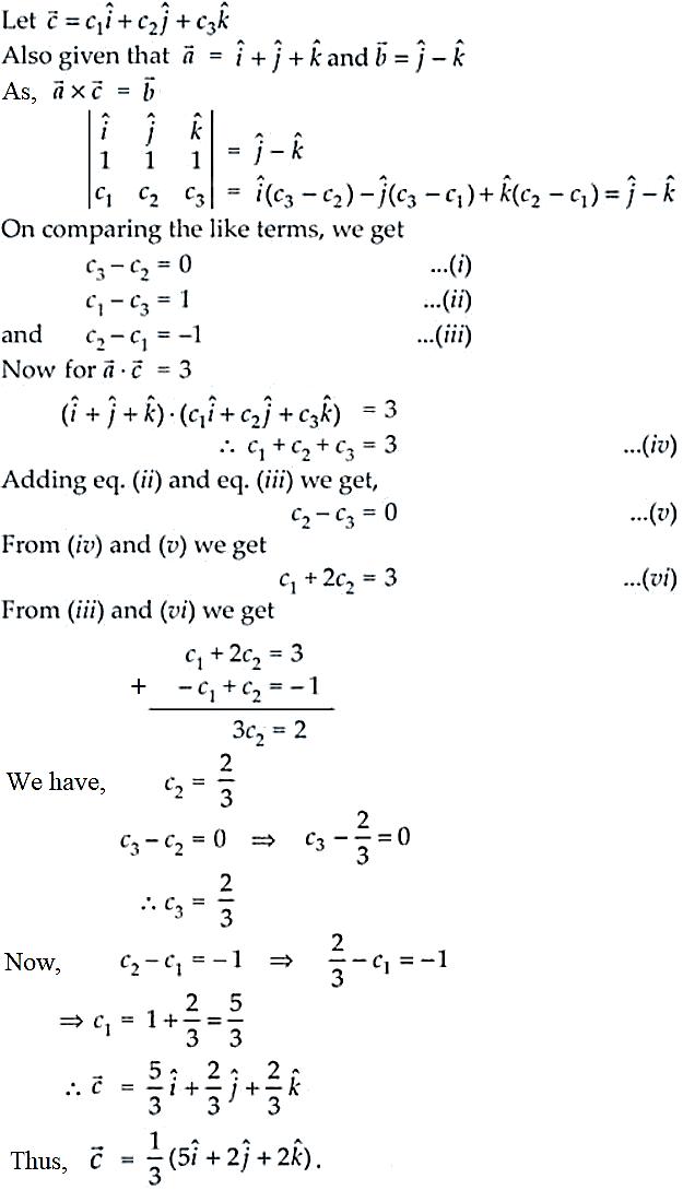NCERT Exemplar Solutions Class 12 Mathematics Chapter 10 - 58