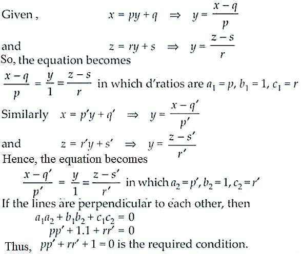 NCERT Exemplar Solutions Class 12 Mathematics Chapter 11 - 12