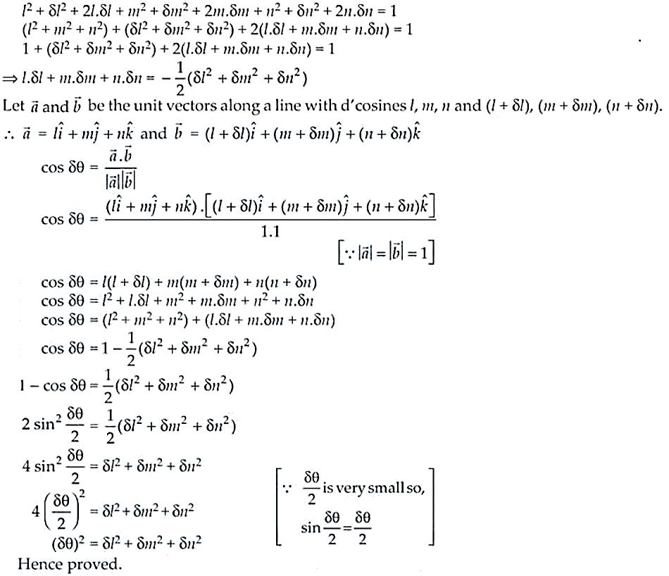 NCERT Exemplar Solutions Class 12 Mathematics Chapter 11 - 19