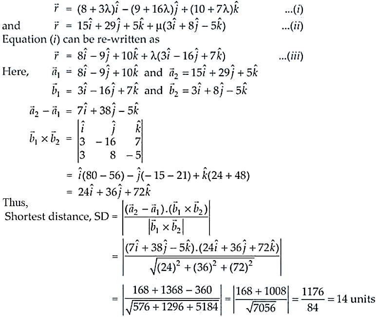 NCERT Exemplar Solutions Class 12 Mathematics Chapter 11 - 35