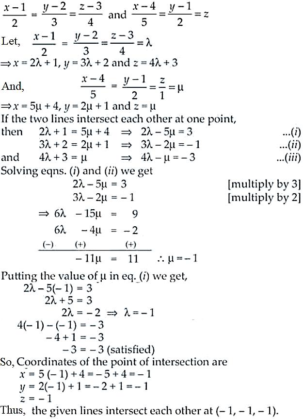 NCERT Exemplar Solutions Class 12 Mathematics Chapter 11 - 7