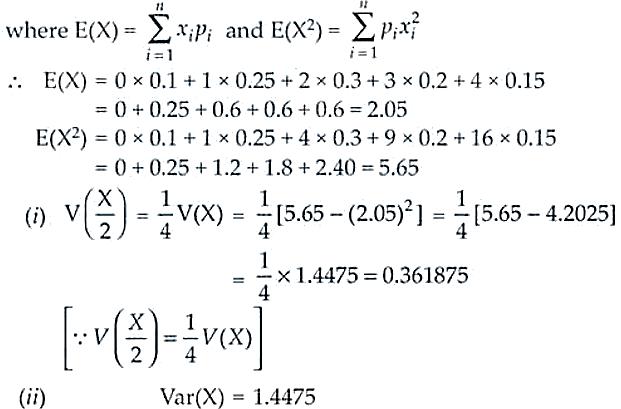 NCERT Exemplar Solutions Class 12 Mathematics Chapter 13 - 16