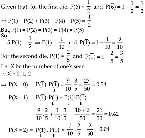 NCERT Exemplar Solutions Class 12 Mathematics Chapter 13 - 21