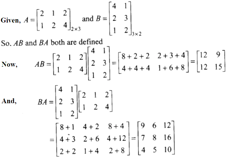 NCERT Exemplar Solutions Class 12 Mathematics Chapter 3 - 28