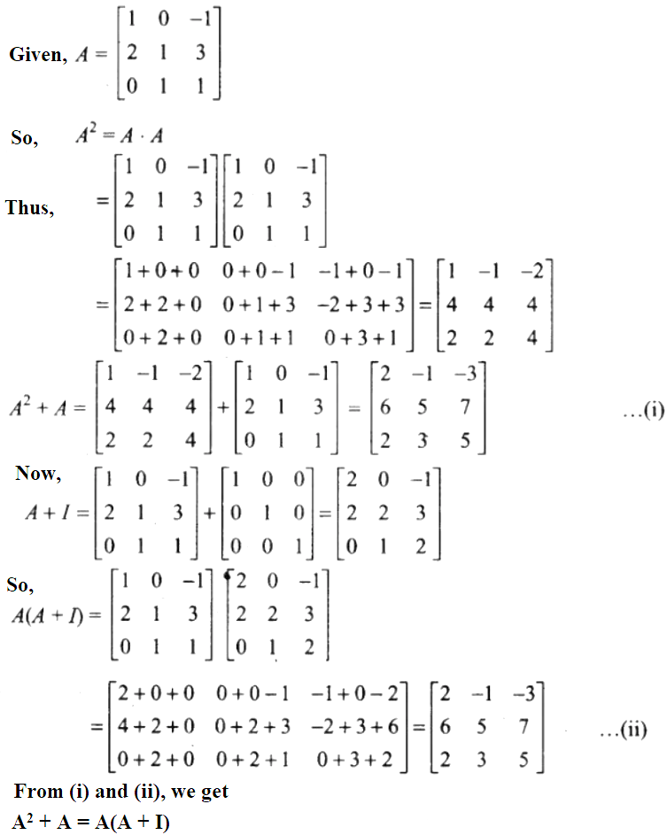 NCERT Exemplar Solutions Class 12 Mathematics Chapter 3 - 52