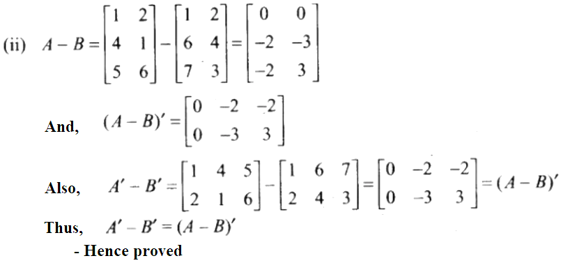 NCERT Exemplar Solutions Class 12 Mathematics Chapter 3 - 58