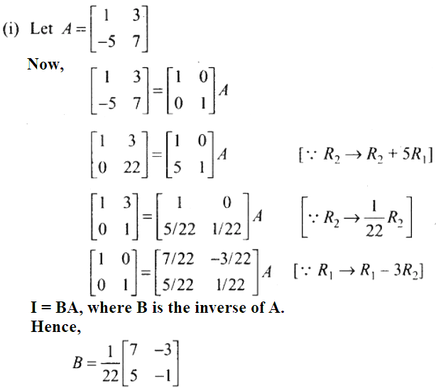 NCERT Exemplar Solutions Class 12 Mathematics Chapter 3 - 70