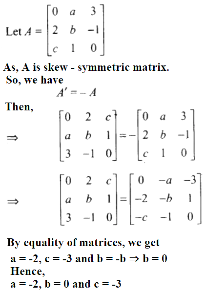 NCERT Exemplar Solutions Class 12 Mathematics Chapter 3 - 87