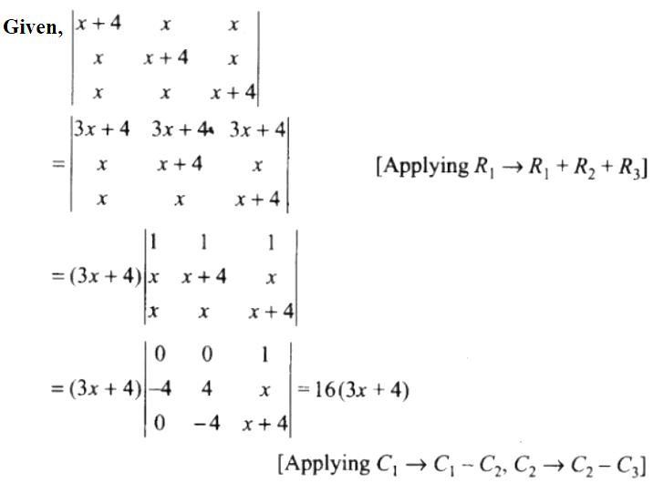 NCERT Exemplar Solutions Class 12 Mathematics Chapter 4 - 11