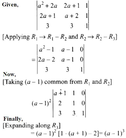 NCERT Exemplar Solutions Class 12 Mathematics Chapter 4 - 20