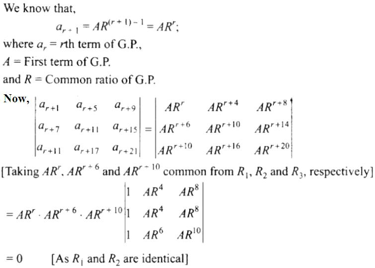 NCERT Exemplar Solutions Class 12 Mathematics Chapter 4 - 32