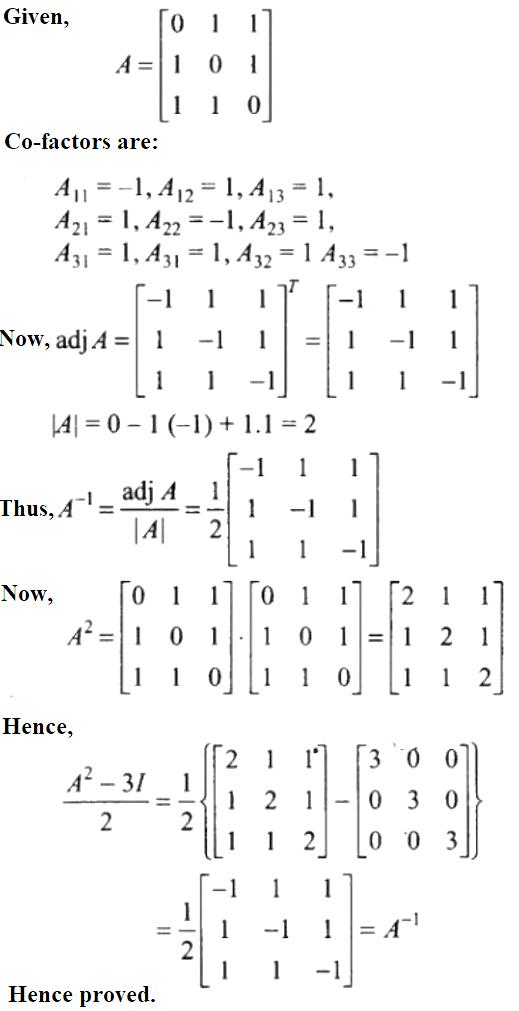 NCERT Exemplar Solutions Class 12 Mathematics Chapter 4 - 38