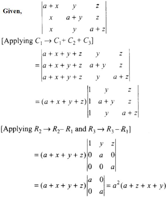 NCERT Exemplar Solutions Class 12 Mathematics Chapter 4 - 4