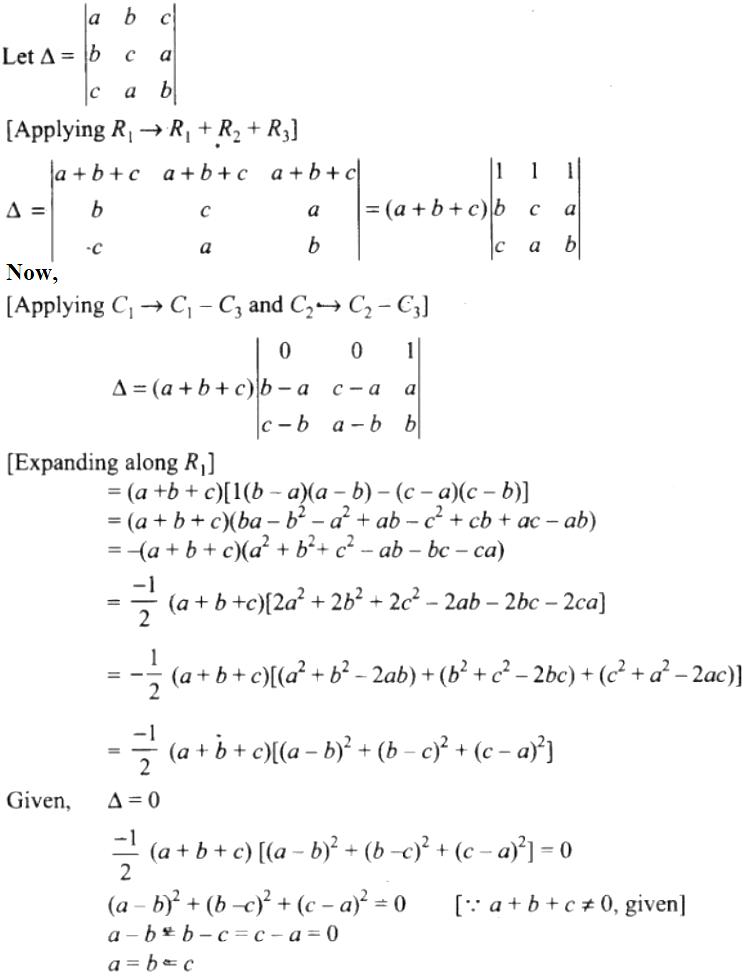NCERT Exemplar Solutions Class 12 Mathematics Chapter 4 - 49