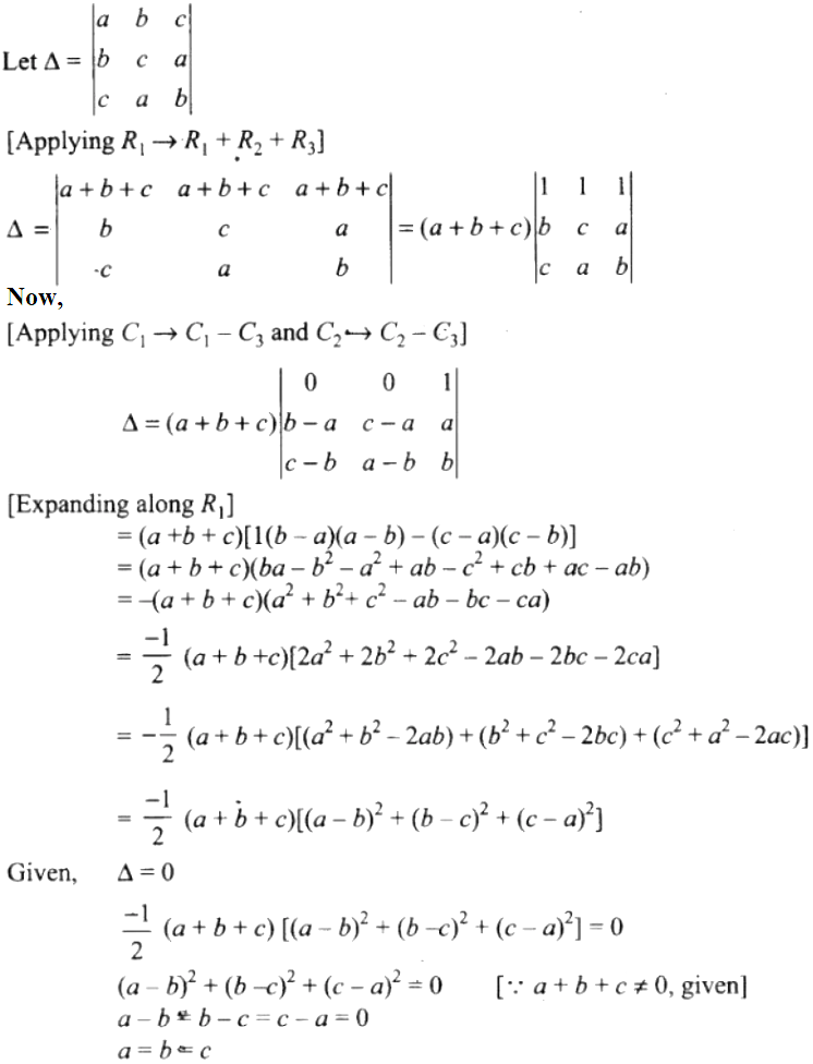 NCERT Exemplar Solutions Class 12 Mathematics Chapter 4 - 50