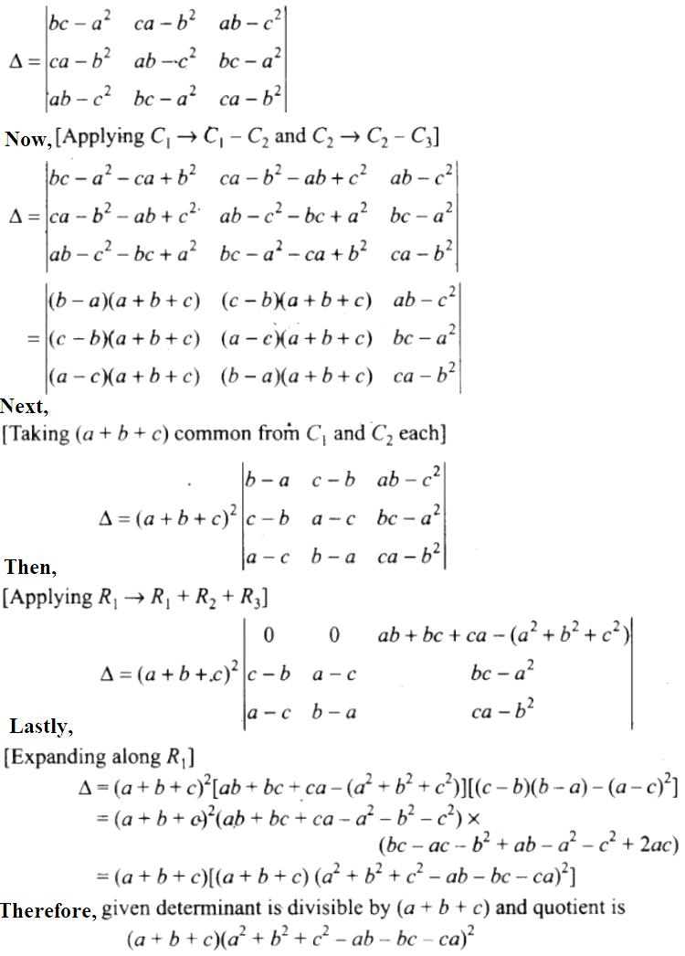 NCERT Exemplar Solutions Class 12 Mathematics Chapter 4 - 52