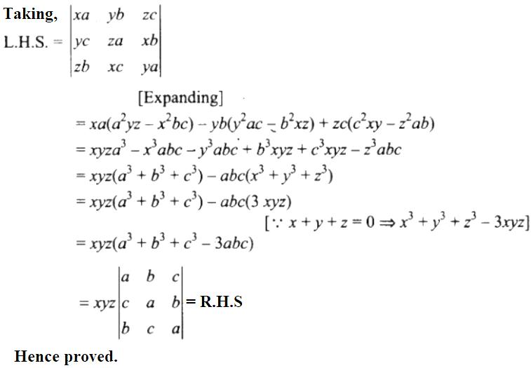 NCERT Exemplar Solutions Class 12 Mathematics Chapter 4 - 55