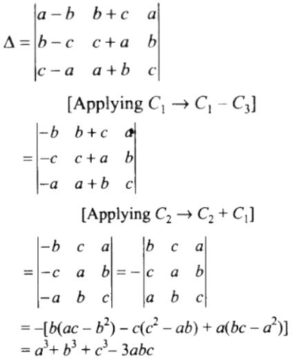 NCERT Exemplar Solutions Class 12 Mathematics Chapter 4 - 58