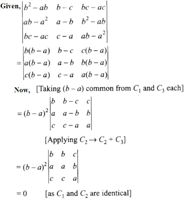 NCERT Exemplar Solutions Class 12 Mathematics Chapter 4 - 62