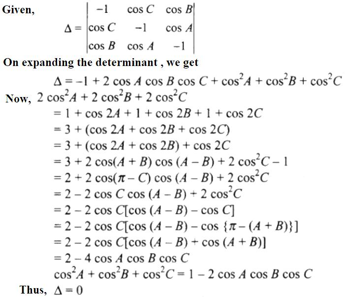 NCERT Exemplar Solutions Class 12 Mathematics Chapter 4 - 66