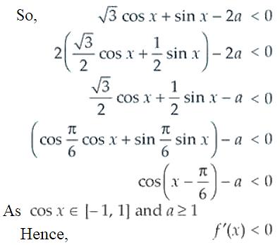 NCERT Exemplar Solutions Class 12 Mathematics Chapter 6 - 29