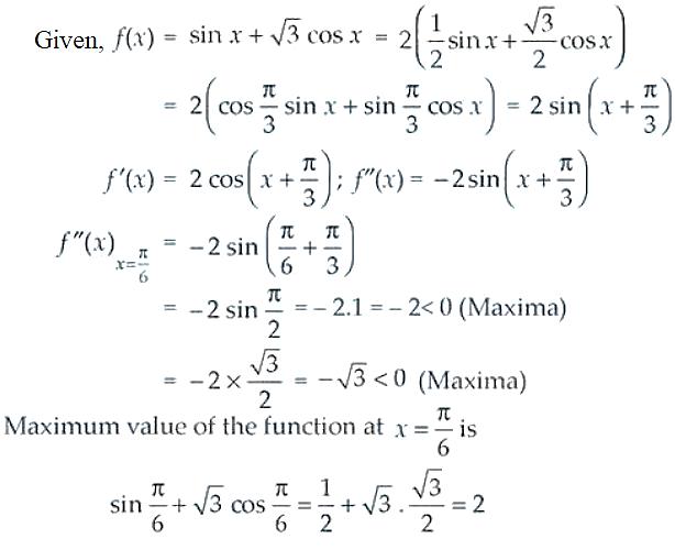 NCERT Exemplar Solutions Class 12 Mathematics Chapter 6 - 33