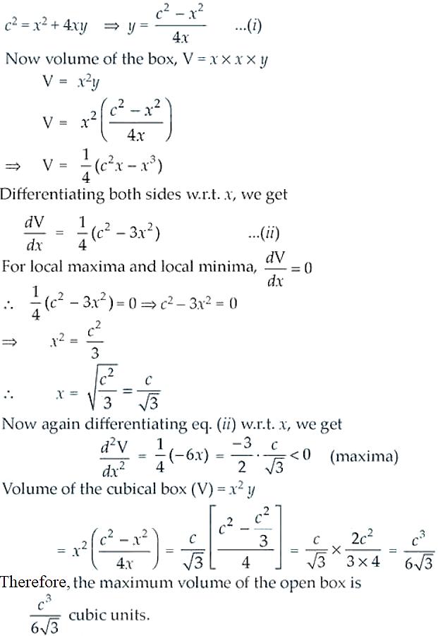 NCERT Exemplar Solutions Class 12 Mathematics Chapter 6 - 41