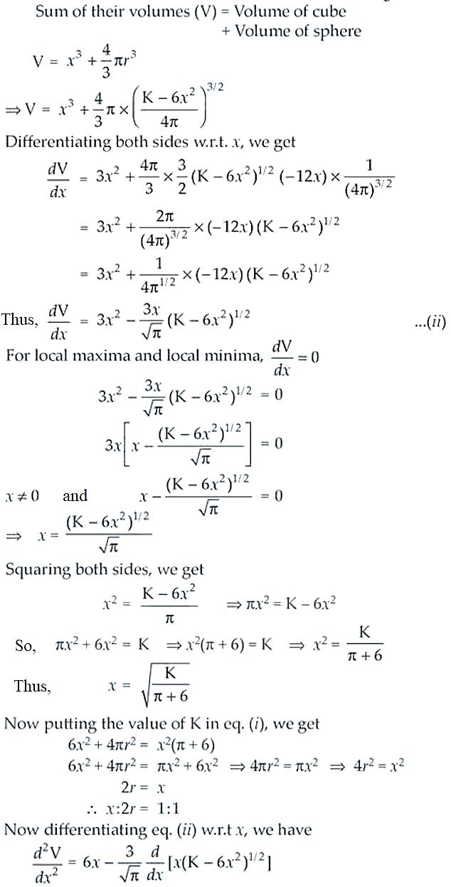 NCERT Exemplar Solutions Class 12 Mathematics Chapter 6 - 45